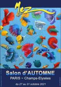 Salon d'AUTOMNE 2021_afficheMEZ